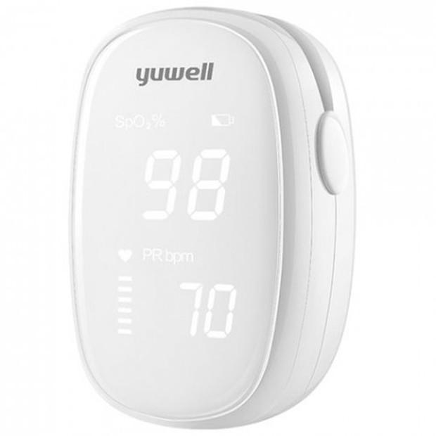 ukuran oximeter Xiaomi yang kecil membuat oximeter ini mudah dibawa ke mana saja untuk mengontrol kesehatan.