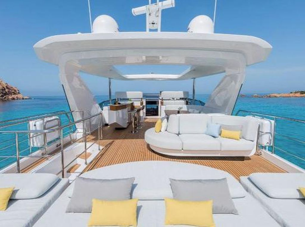 Ampun Bang Jago! Ini Mega Yacht Mewah Cristiano Ronaldo