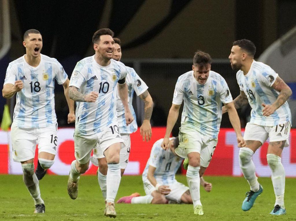 Hasil Semifinal Copa America: Menang Adu Penalti, Argentina ke Final