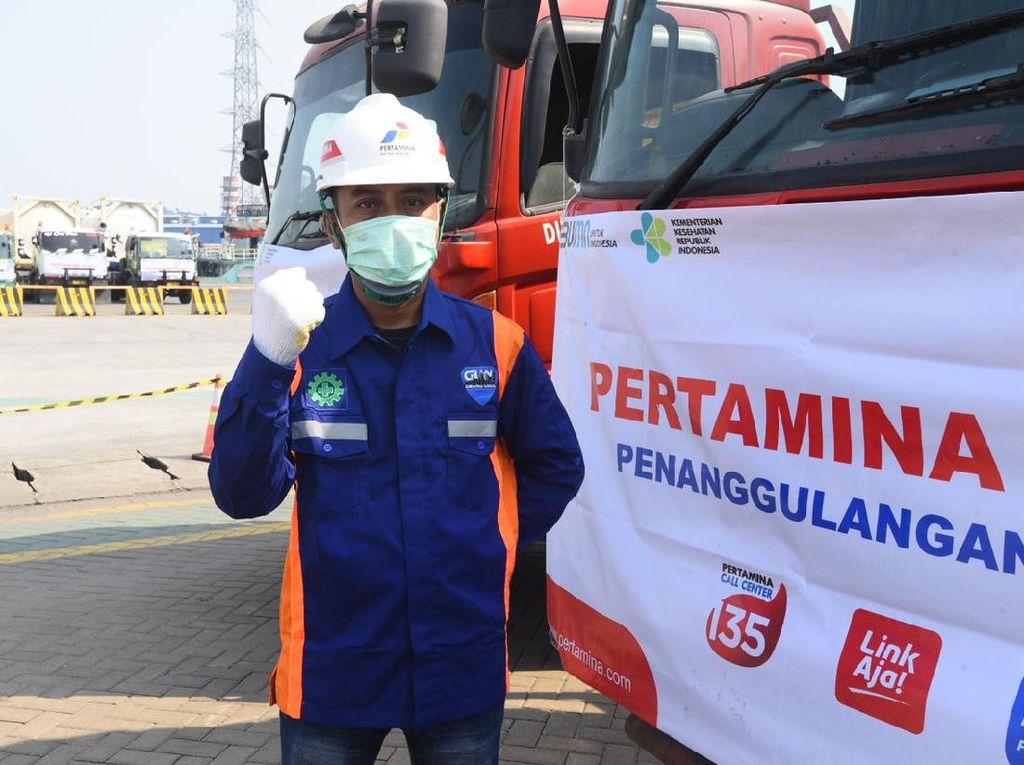 Pertamina Distribusikan ISO Tank Oksigen ke Jateng & Yogya
