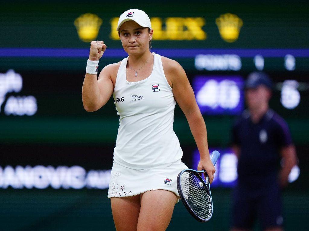 Wimbledon 2021: Barty Vs Kerber di Semifinal, Medvedev Tersingkir