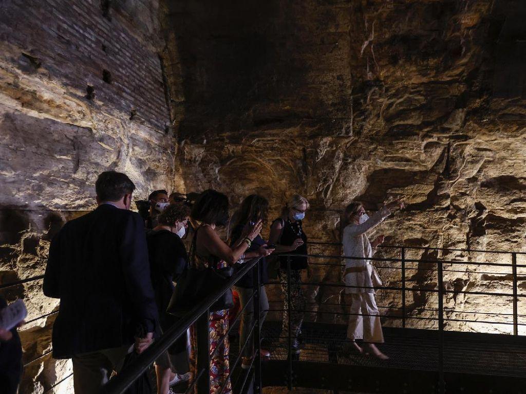 Foto Backstage Colosseum, Tempat Gladiator dan Hewan Buas Sebelum Duel