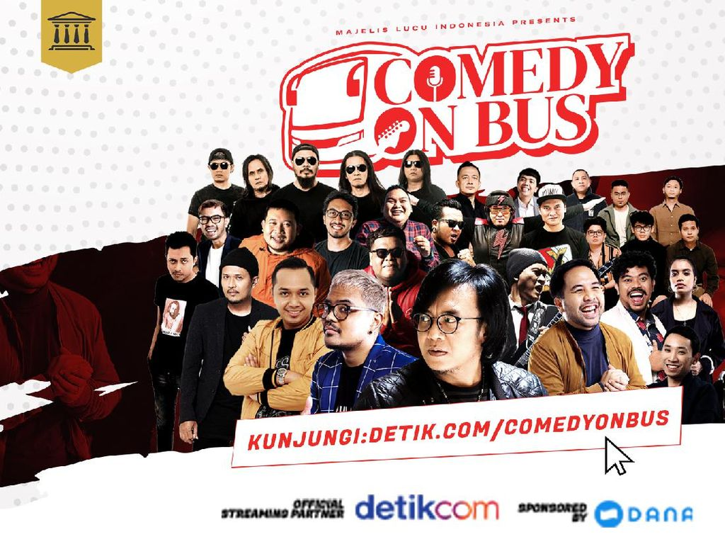 Di Depan Para Komika, Juicy Luicy Cerita Makna Komedi bagi Kehidupan