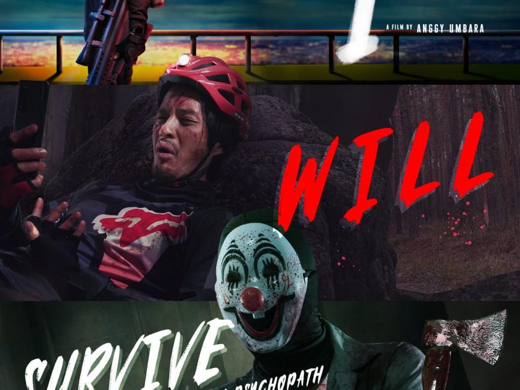 Onadio Leonardo Senang-senang Jadi Psikopat di Trilogi I, Will, dan Survive