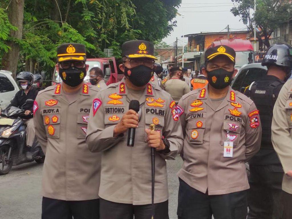 Polisi Bakal Tes Swab Pengendara Ngeyel di Pos Penyekatan PPKM Darurat