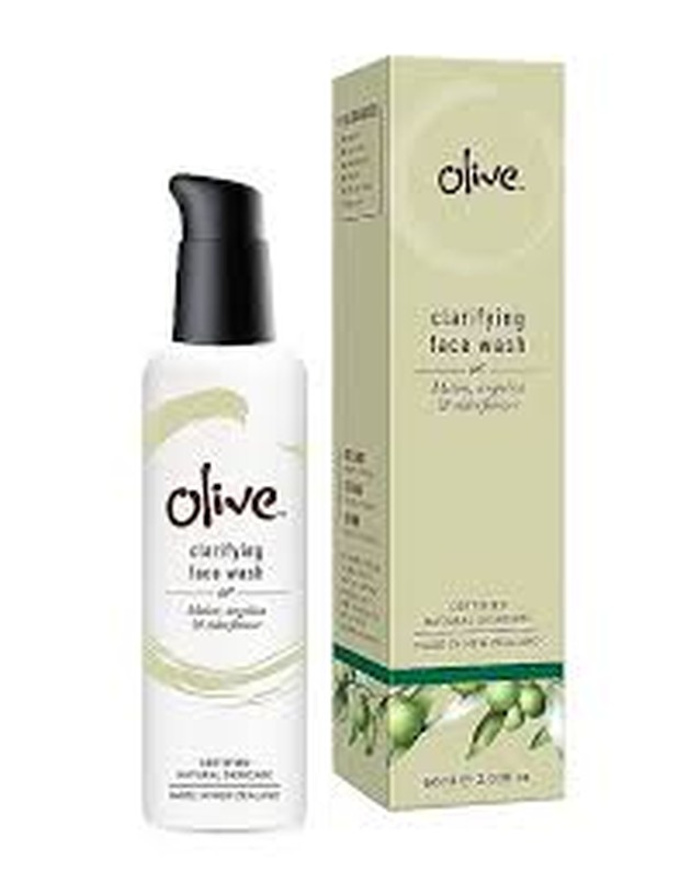 Olive Natural Skincare Clarifying Face Wash (sumber : sephora.nnnow.com)