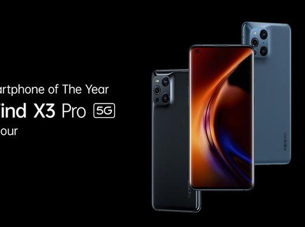OPPO Find X3 Pro 5G Raih Smartphone of The Year dari Selular Award