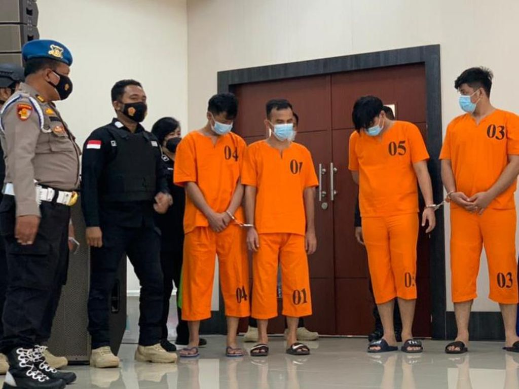 Polisi Sita 108 Kg Sabu Asal Malaysia di Pekanbaru, Pemesan 2 Narapidana