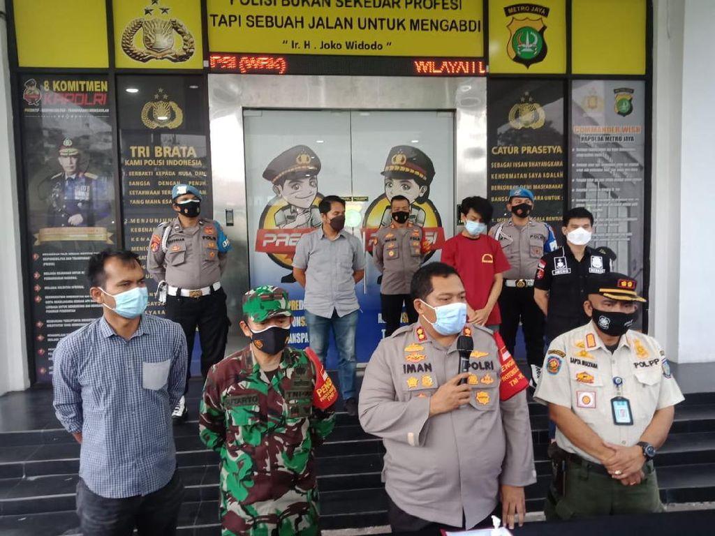 Gagal Trik Pria Kena Razia Masker saat Mengaku Kerabat Jenderal
