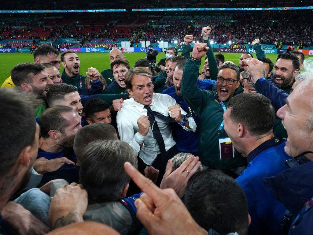 Team Talk Sederhana Mancini Bikin Italia Juara Euro 2020