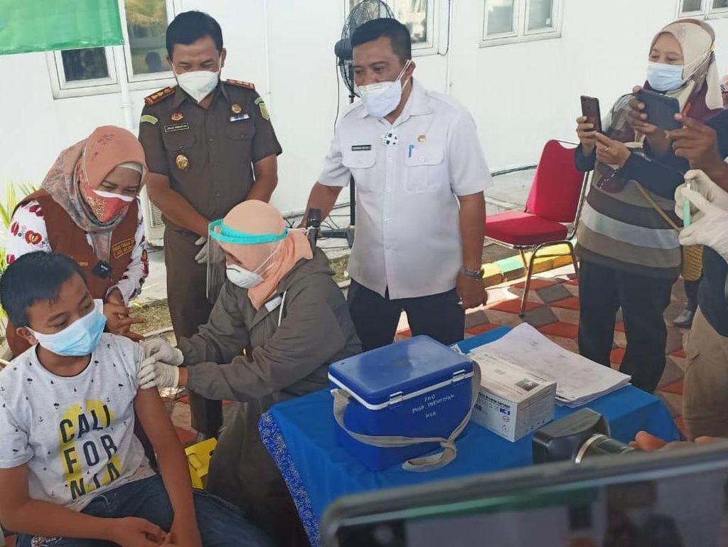 Pemkot Mojokerto Targetkan Vaksinasi 21 Ribu Anak sampai Agustus