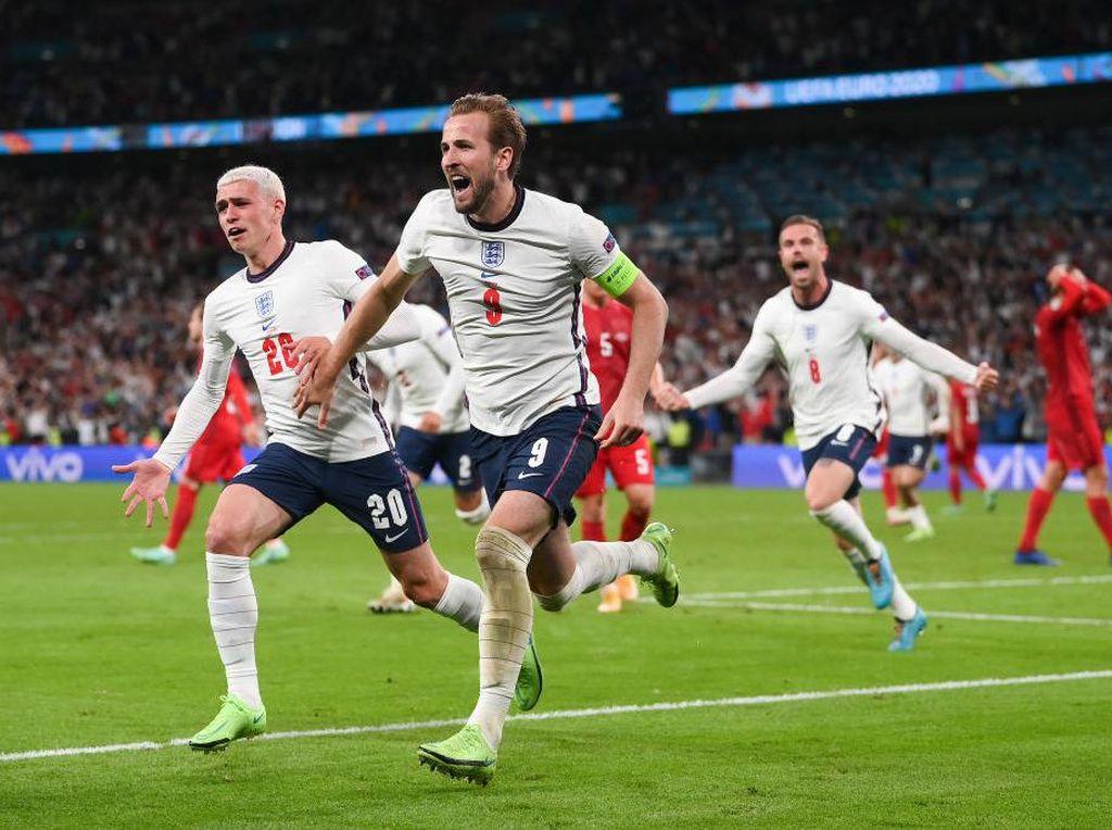 Inggris Vs Denmark: Menang 2-1,  Tiga Singa ke Final Euro 2020