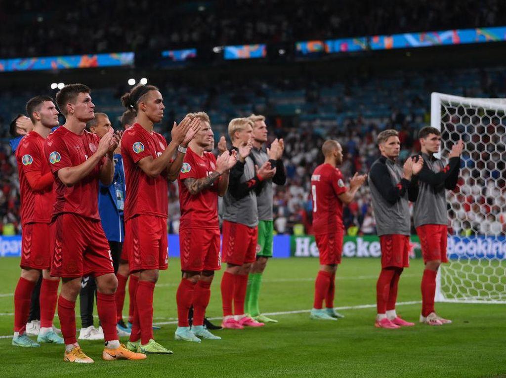 Akhir Kisah Dongeng Denmark di Piala Eropa 2020