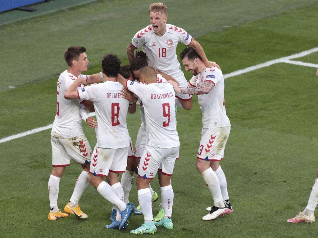 Catatan Sempurna Denmark yang Sukses Segel Tiket Piala Dunia 2022