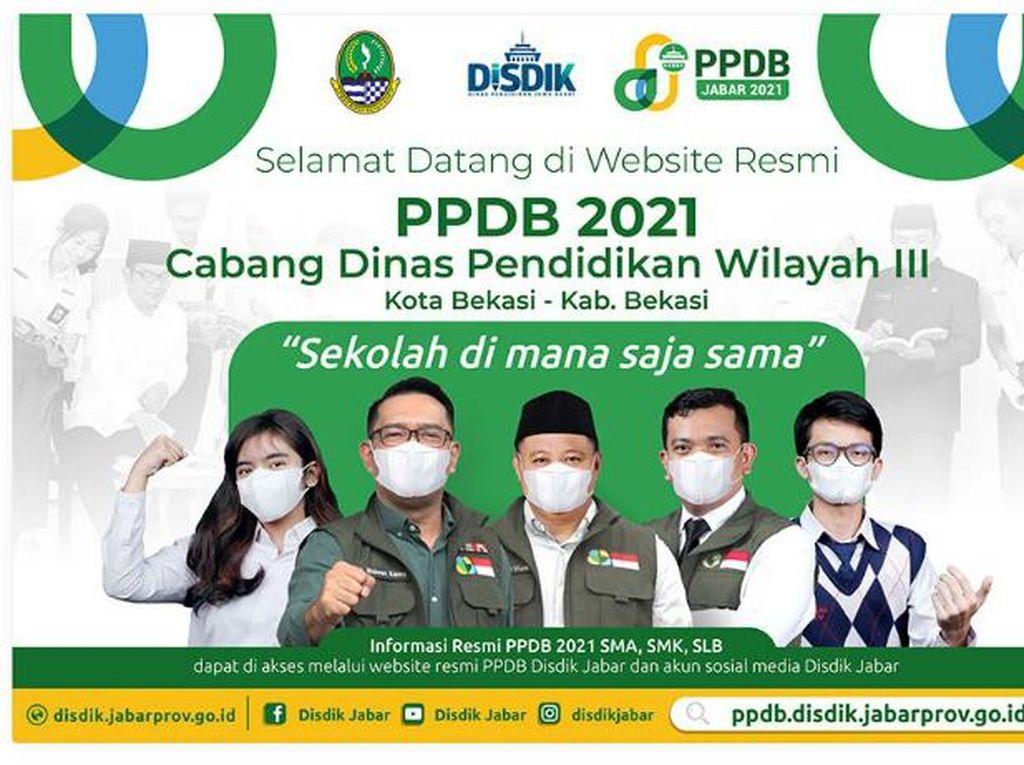 Besok Pengumuman PPDB Jabar Tahap 2, Begini Cara Aksesnya