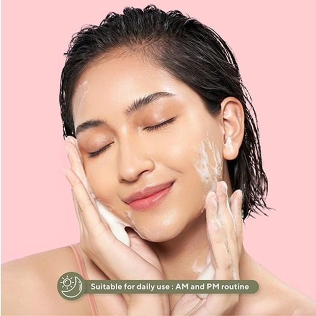 Matcha Oat Gentle Cleanser bisa digunakan semua jenis kulit