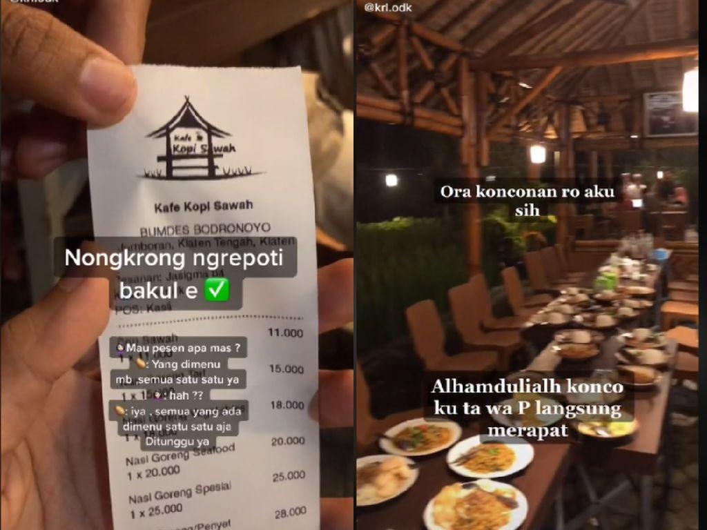 Sultan Klaten Ini Pesan Semua Menu di Kafe Seharga Rp 700 Ribu