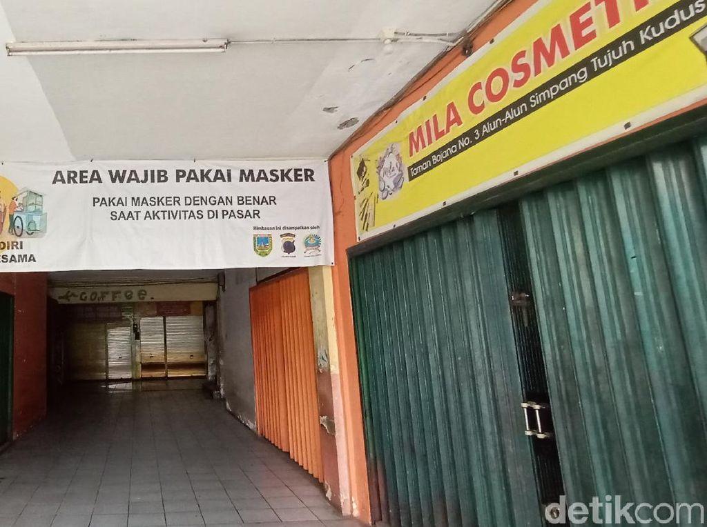 Dampak PPKM, Pedagang Soto Kudus di Taman Bojana Tutup karena Tak Ada Pembeli