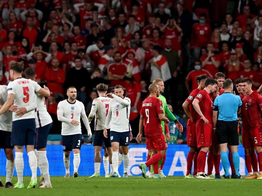 Rangkaian Kontroversi Antar Inggris ke Final Euro 2020