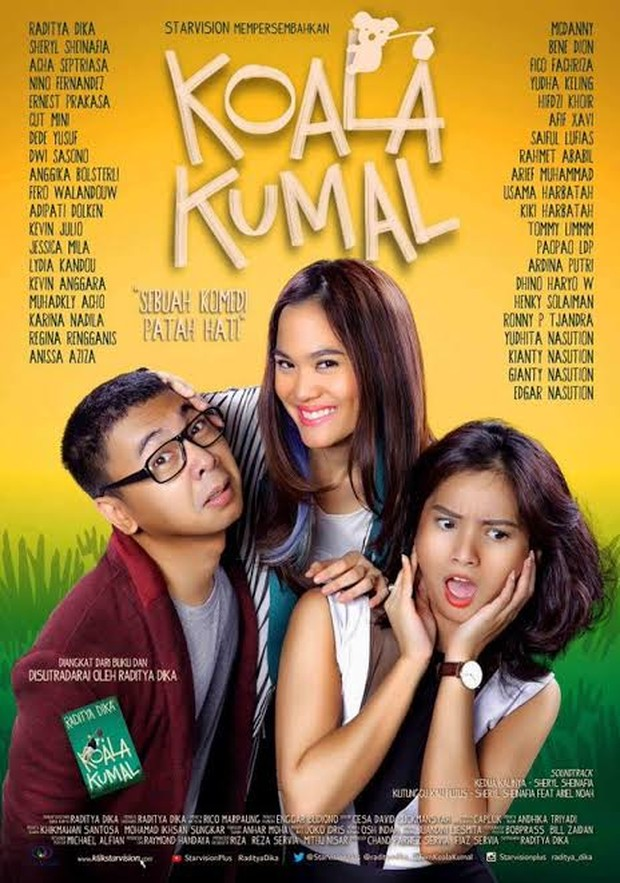 Film Indonesia komedi romantis