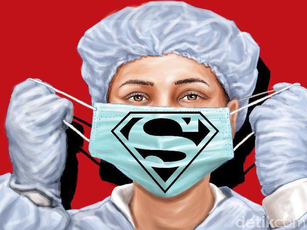 Mahasiswa Kedokteran-Calon Perawat Akan Dikerahkan Tangani Pasien COVID-19