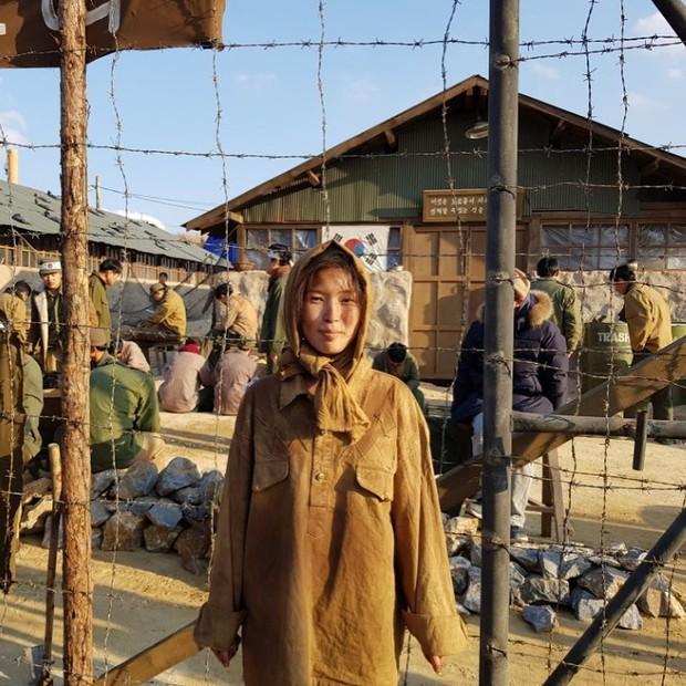 Kang Nara dalam film Swing Kids/foto:instagram.com/kang_naraa
