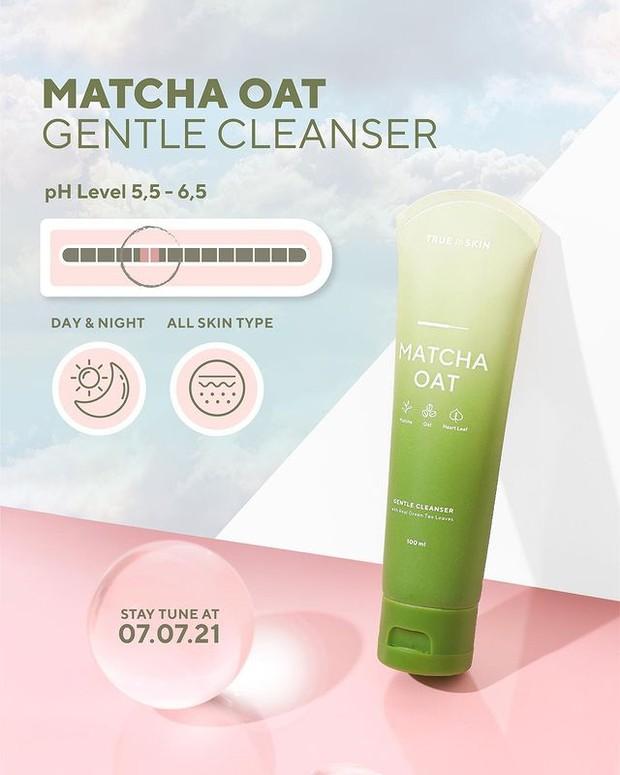 Matcha Oat Gentle Cleanser sudah tersedia di e-commerce