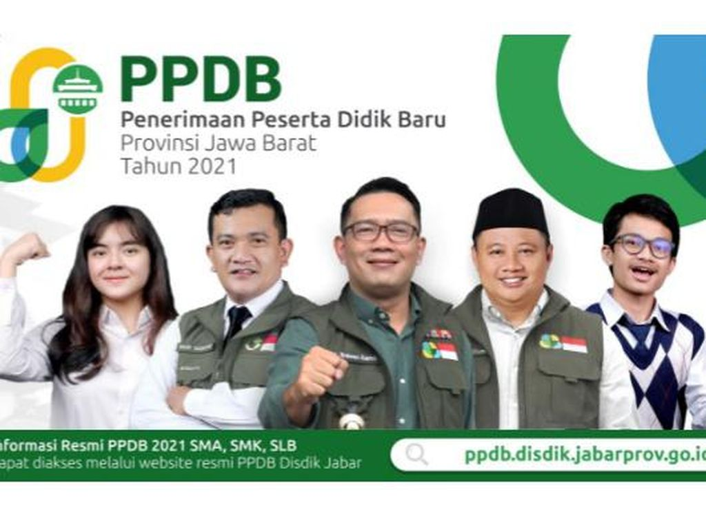 Pengumuman PPDB Jabar Tahap 2, Klik di ppdb.disdik.jabarprov.go.id