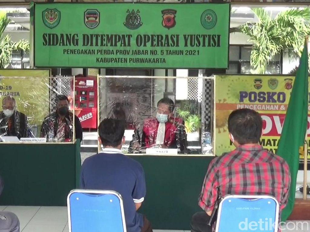 Langgar PPKM Darurat, Pemilik Warteg di Purwakarta Didenda Rp 250 Ribu