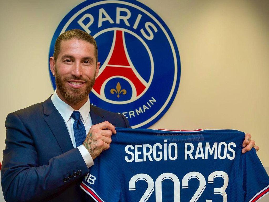 Sergio Ramos Lupa ya Kalau Tak Jadi Kapten di PSG?