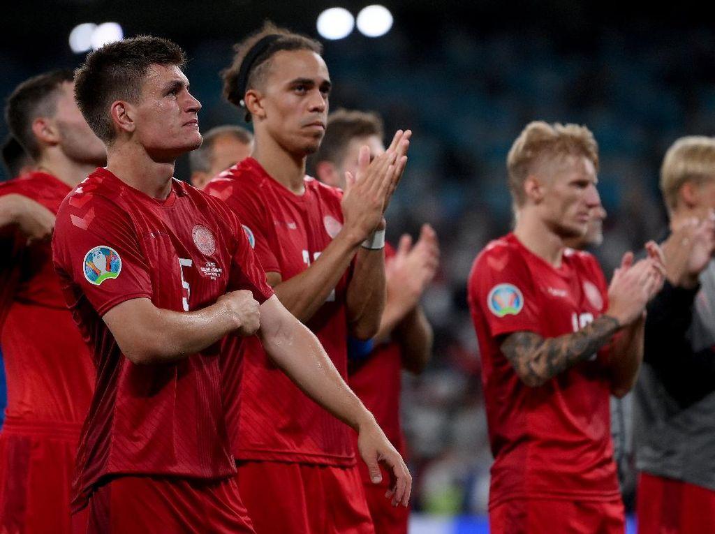 Euro 2020: Denmark Dirampok Inggris di Wembley
