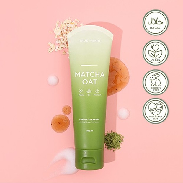 True to Skin, Matcha Oat Gentle Cleanser