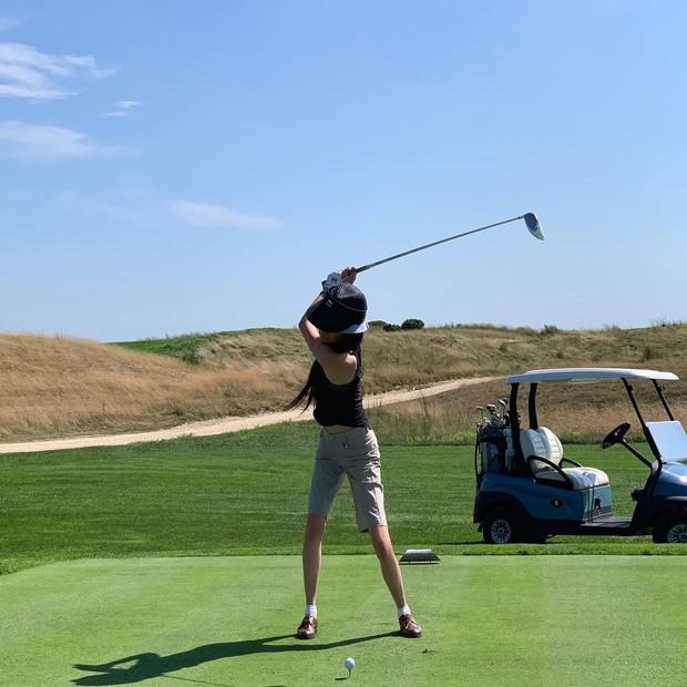 Vera Wang saat bermain golf/instagram.com/verawang