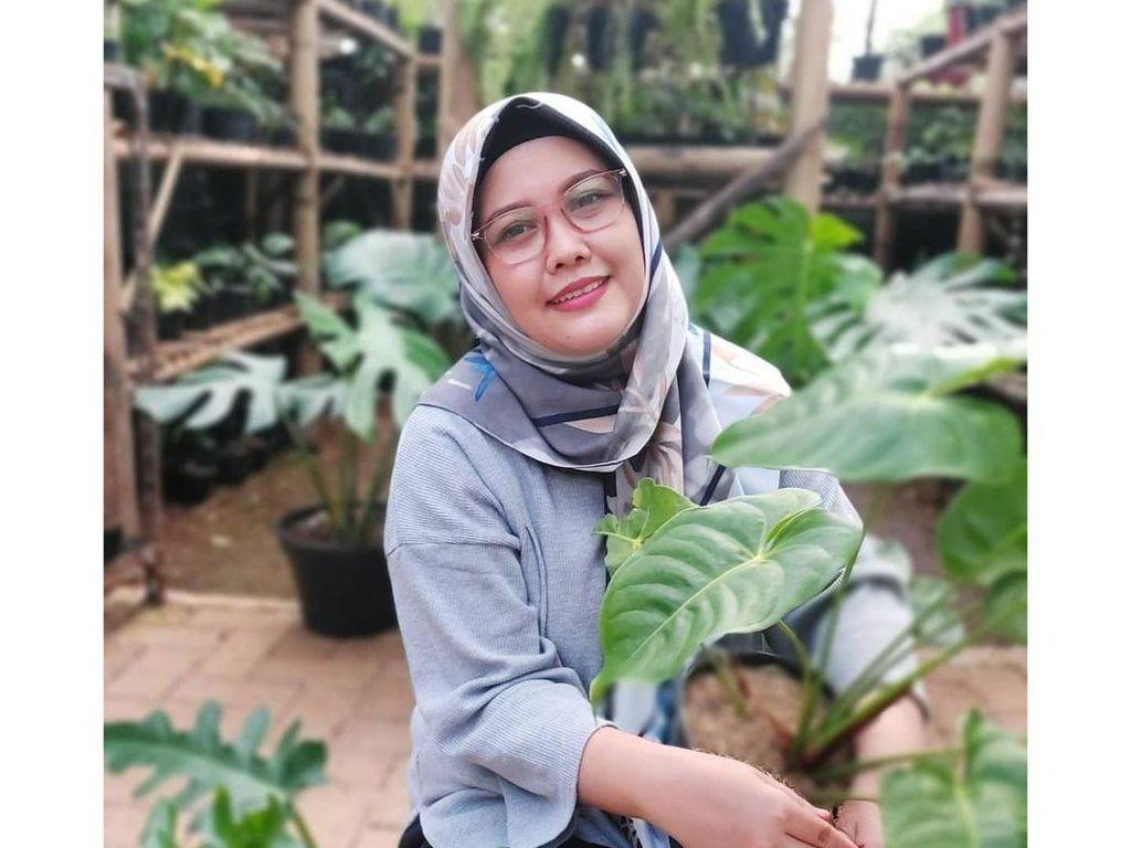 Lepas Karier Dokter Hewan, Wanita Ini Cuan Ratusan Juta Jualan Tanaman Hias
