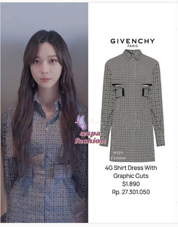 dress mahal dari brand Givenchy