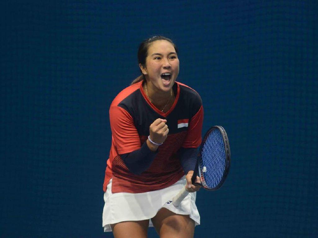 Aldila Sutjiadi Bidik 7 Turnamen Tenis di AS usai Capai Target Ini