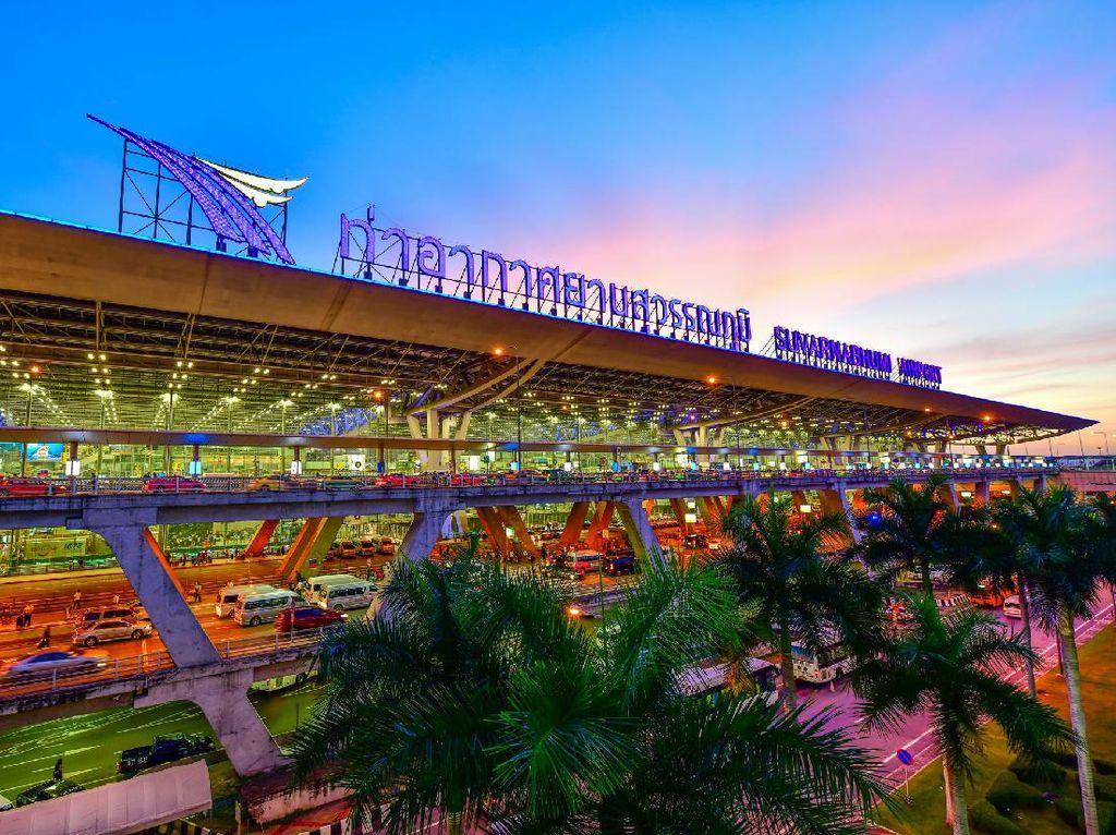 Covid-19 Menggila, Thailand Rombak Bandara Jadi Rumah Sakit Darurat