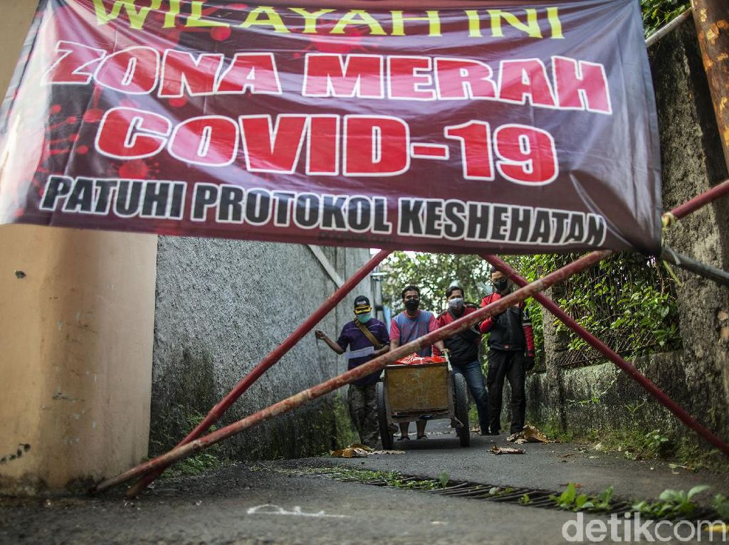 Hanya 7 Daerah Zona Orange di Jawa Barat, Sisanya Merah!