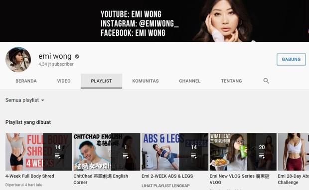 Beranda Youtube