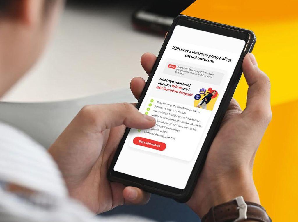 Indosat Rilis Prime, Paket Internet 150 GB Bayar Bisa Belakangan