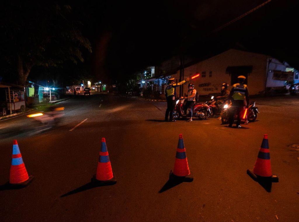 Polisi Berlakukan Jam Malam di Banjarmasin saat PPKM Level 4