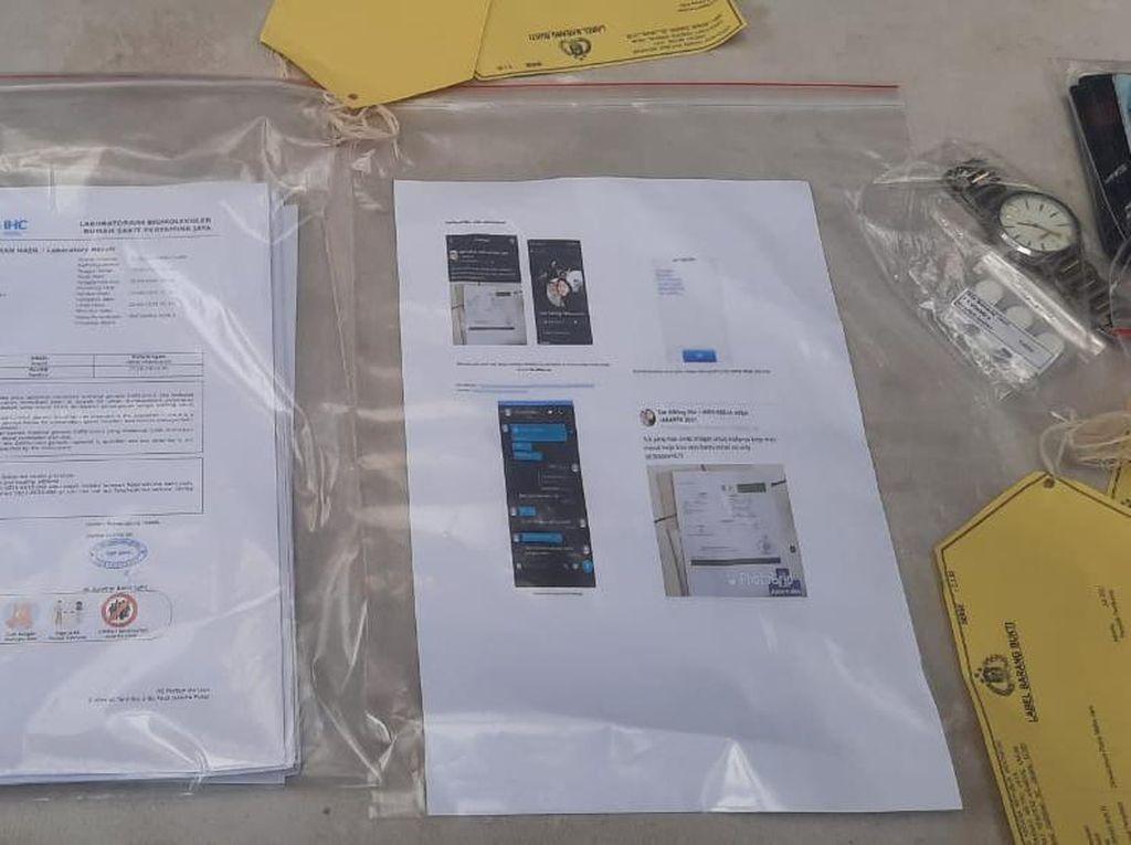Tawarkan Surat PCR Palsu, Agen Tiket pesawat Diciduk!