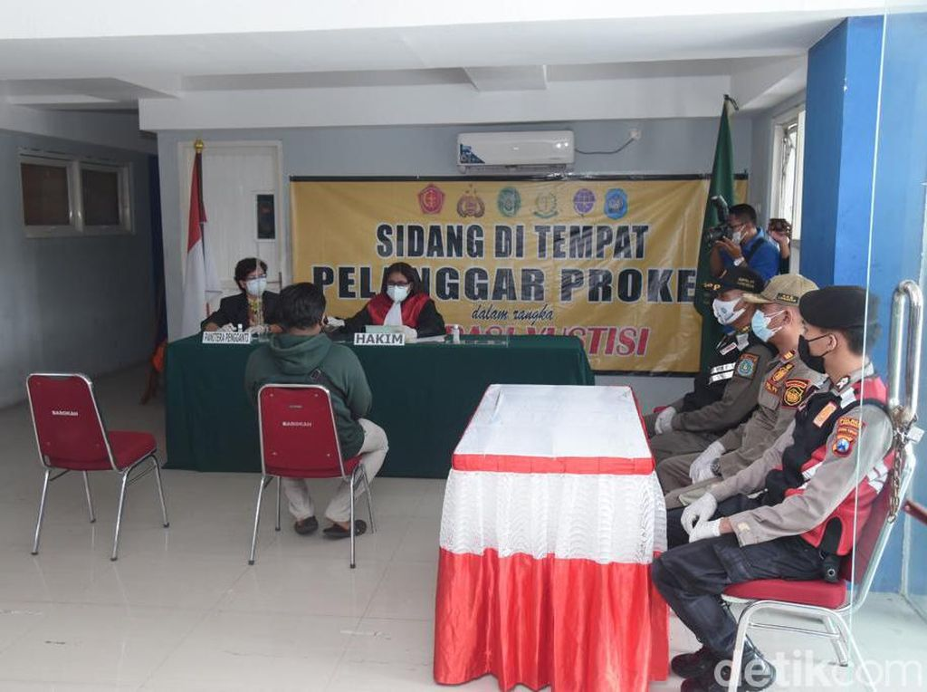 12.556 Pelanggar Prokes di Lamongan Terjaring Selama Pandemi COVID-19