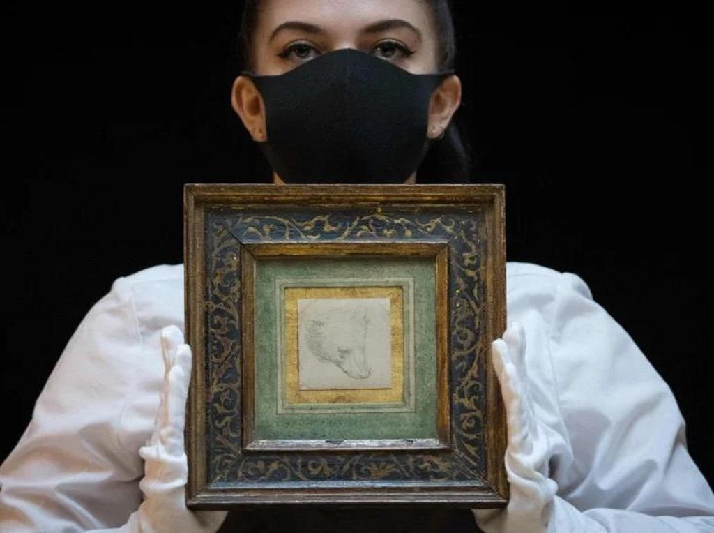 Sketsa Kecil Leonardo Da Vinci Terjual Rp 177 M