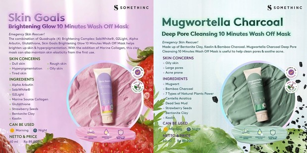 Somethinc Skin Goals & Mugwortella Charcoal