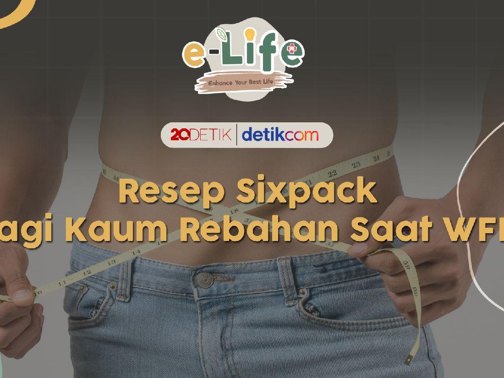 Live! e-Life: Resep Sixpack Bagi Kaum Rebahan
