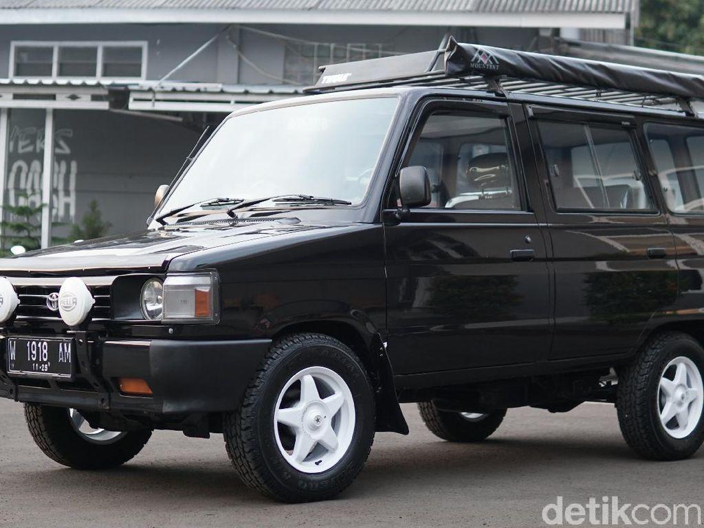 Toyota Kijang LSX G 1994 Dimodifikasi Rally Look, Siap Dibawa Kemana Aja