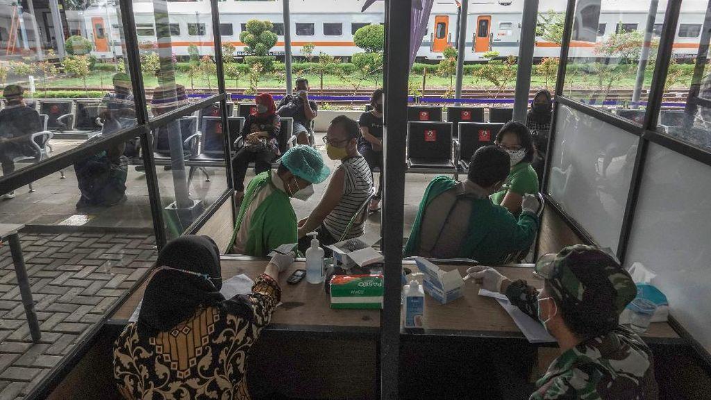 Stasiun Purwokerto Sediakan Vaksinasi Untuk Penumpang
