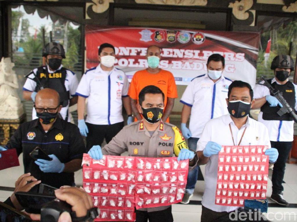 Simpan Kokain-Hasis Senilai Rp 1,5 M, WN Jerman di Bali Terancam Hukum Mati