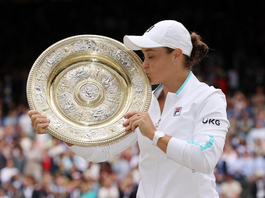 Wimbledon 2021: Barty Juara Usai Kalahkan Pliskova